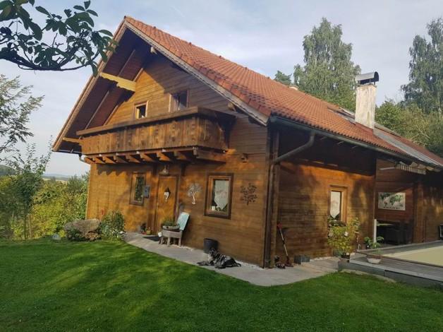 Traumhaftes Holzhaus Mit Pool Urfahr Umgebung Oesterreich